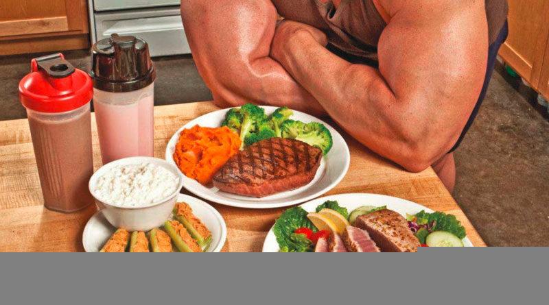 Ernährung des Muskelaufbaus