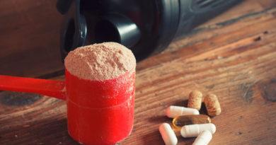 Supplemente Muskelaufbau