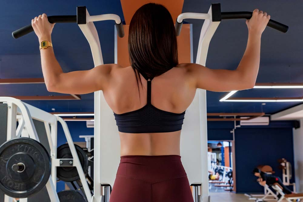 Muskelaufbau Frau - Das Rückentraining